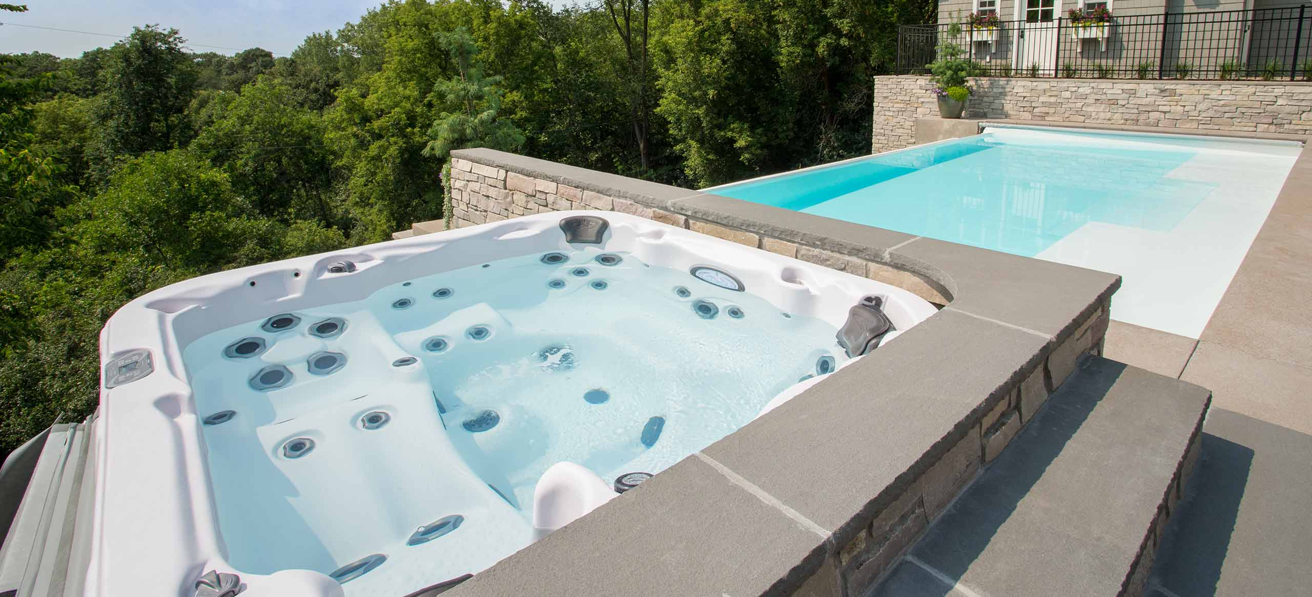 Dimension One Spas Jacuzzi Group - Whirlpool & Living